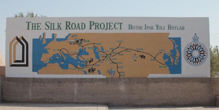 Dia 1.2 Mapa de la Ruta de la Seda de JivaII