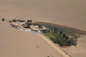 Dia 17 Pagoda y lago de la media luna Dunhuang