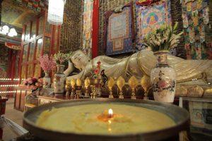 Dia 20 Detalle Interior Monasterio Xiahe
