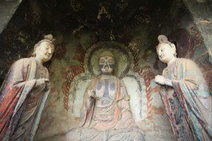 Dia 22 Maiji Shan Detalle Estatuas Cueva