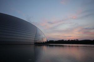 Dia 26 Gran Teatro Nacional de China, conocido como El Huevo