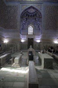 Dia 8 Interior del Mausoleo de Gur Emir Samarkanda