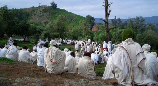 Etiopía fiesta del Timkat
