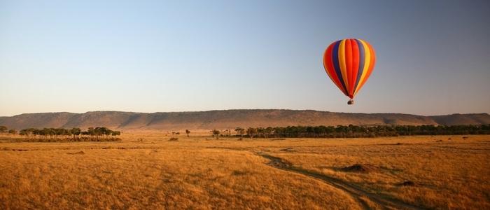 Vuelo en globo por la reserva Másai Mara