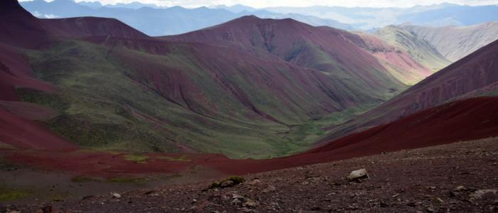 Visitar el Valle Rojo en Perú