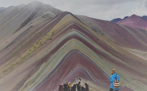 La Montaña de Siete Colores en Perú