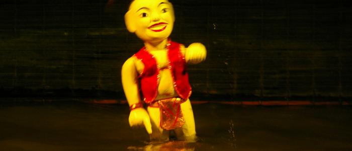 Teatro marionetas de agua
