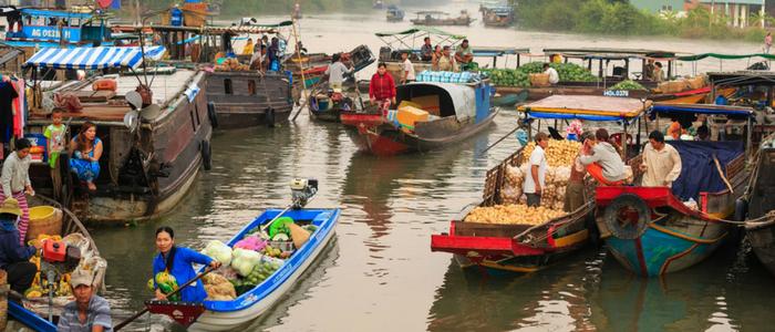 que ver en Delta del Mekong