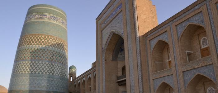 Minarete de Islam Khodja en Jiva