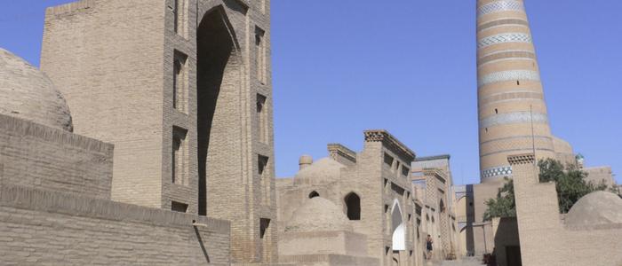 Minarete Islam Khodja en Jiva