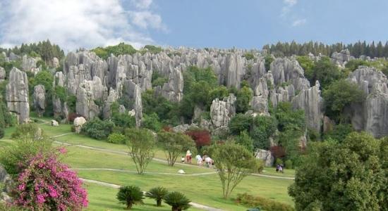 El Bosque de Piedra de Shilin es una de las maravillas naturales de Yunnan
