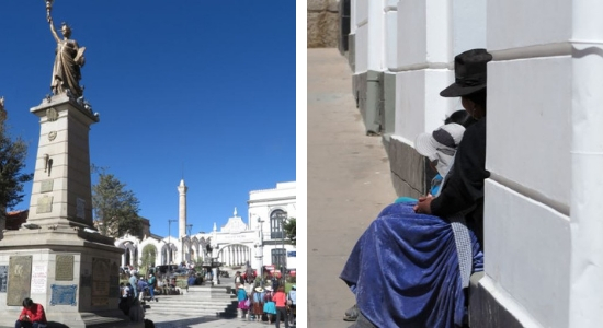 Con cerca de 250 habitantes, las calles de Potosí están siempre animadas