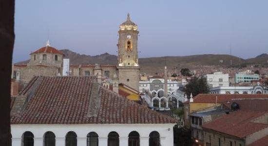 La ciudad de Potosí es uno de los centro turísticos internacionales más importantes de Bolivia