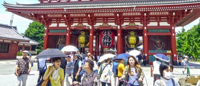 El templo Sensoji, es un imprescindible en la visita a Tokio