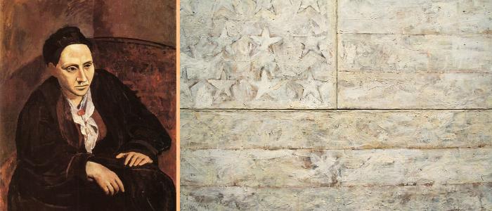 Picasso Jasper Johns en el MET