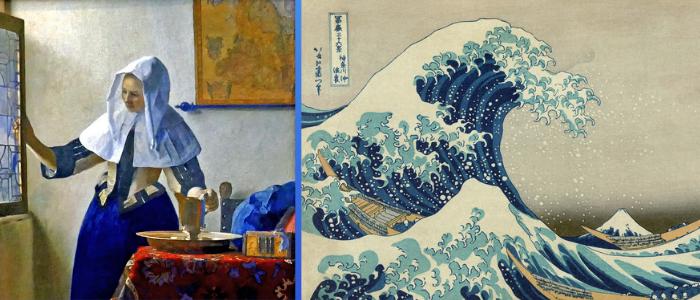 Vermeer Hokusai en el MET