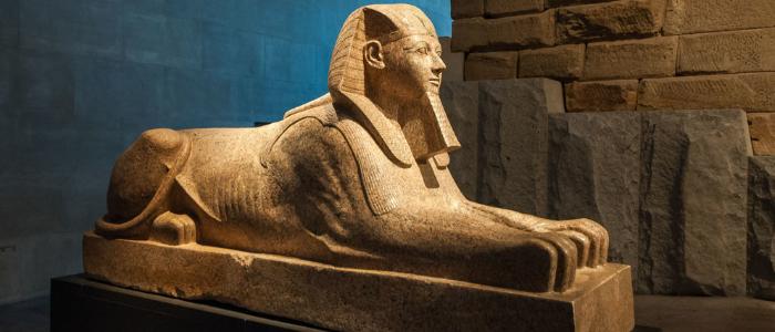ver arte egipcio en Nueva York