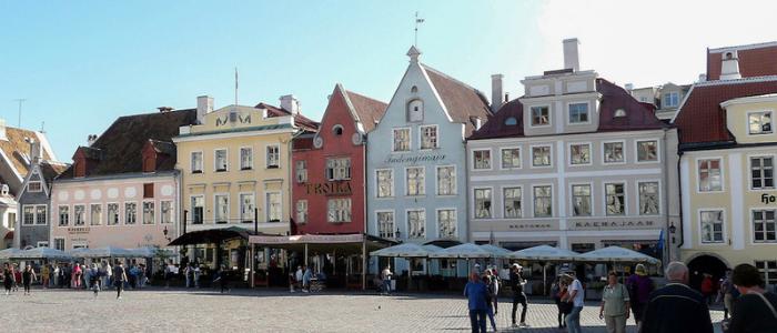 Plaza ayuntamiento Tallin