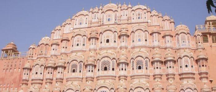 Jaipur una las ciudades más bellas de Rajastán