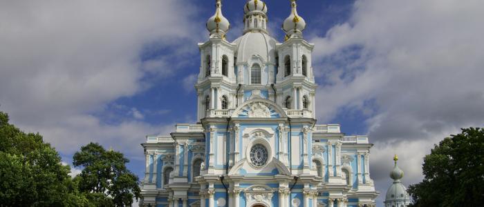 Monasterio Smolni San Petersburgo