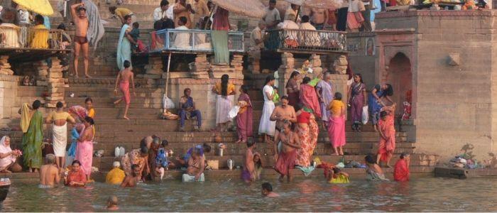 Vanarasi es una parada obligada en el viaje por el norte de India