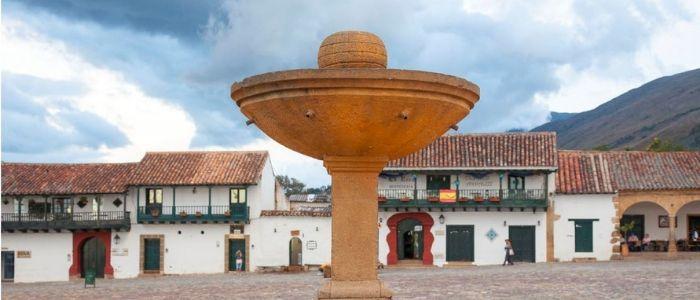 La plaza mayor de villa de leyva es su mayor atracción turística