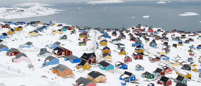 Nanortalik en Groenlandia