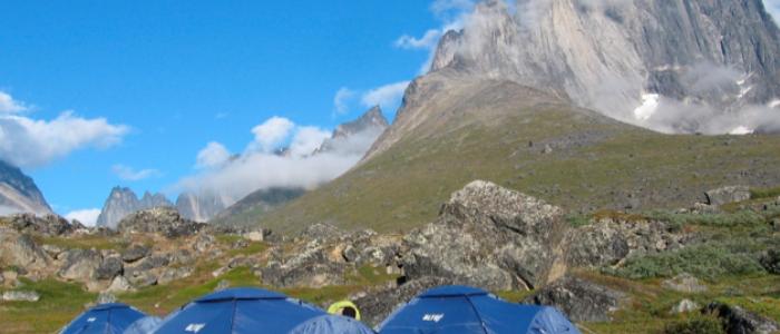 Ulamertorsuaq en Groenlandia
