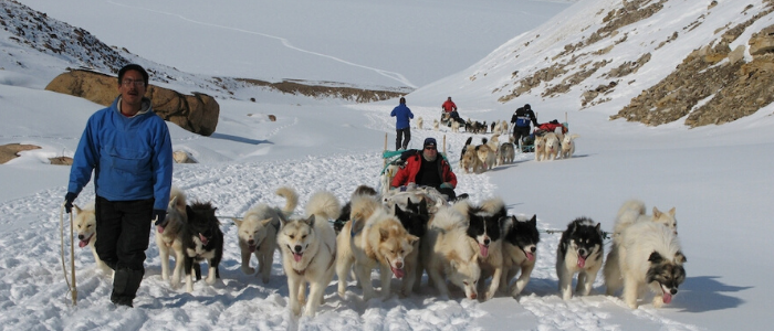 Turismo activo en Groenlandia