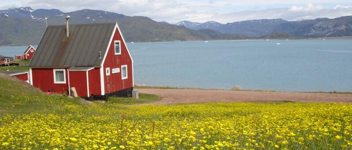 Groenlandia o la tierra verde