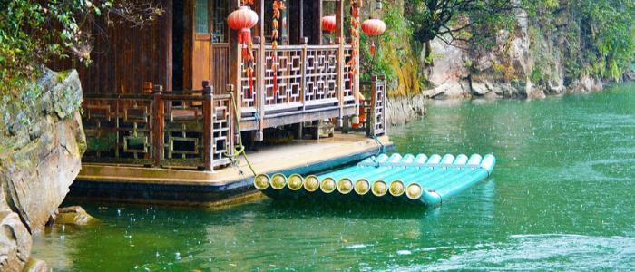 Lago Baofeng en China