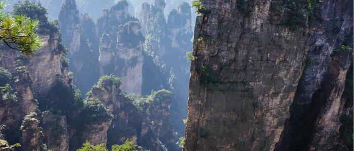 parque nacional forestal en China