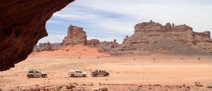Viaje al desierto del Sahara en furgoneta