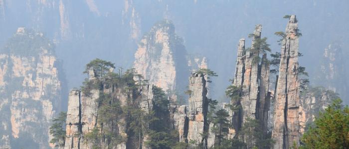El Parque Nacional Zhangjiajie en China inspiró 'Avatar'