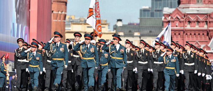 Desfile militar Plaza Roja