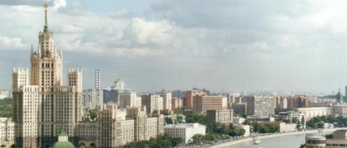 Rascacielos Moscu