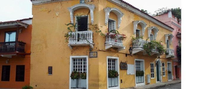 arquitectura colonial lo mejor de Cartagena de Indias