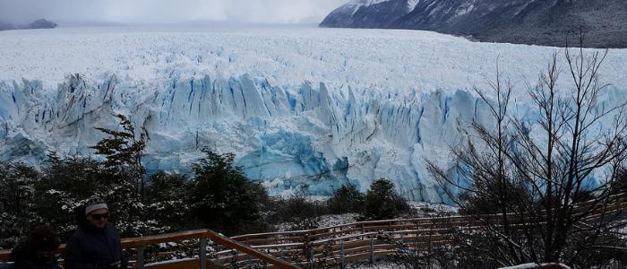 Perito Moreno a pie