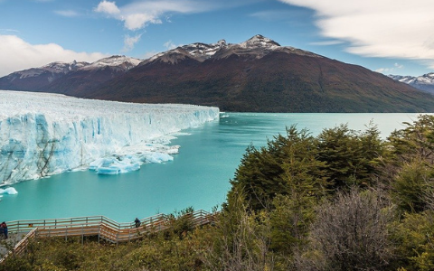Glaciar Perito Moreno, el coloso de hielo