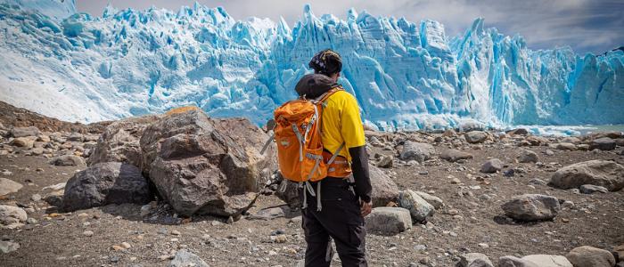 Senderismo en Perito Moreno