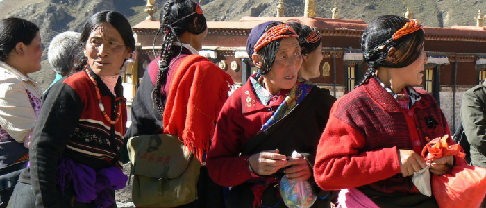 Mujeres en el Tibet