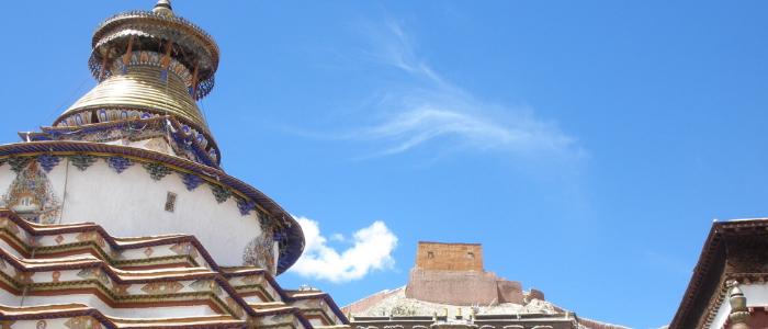 estupa tibetana de Gyantse