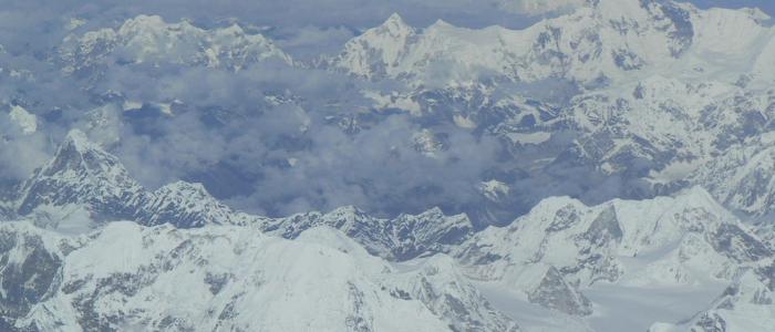 Vista Monte Everest desde Tibet