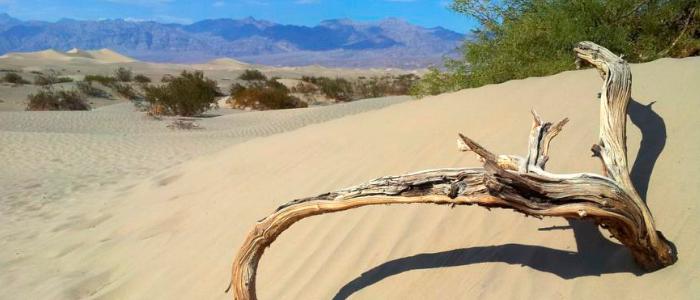 El desierto de la Muerte en California