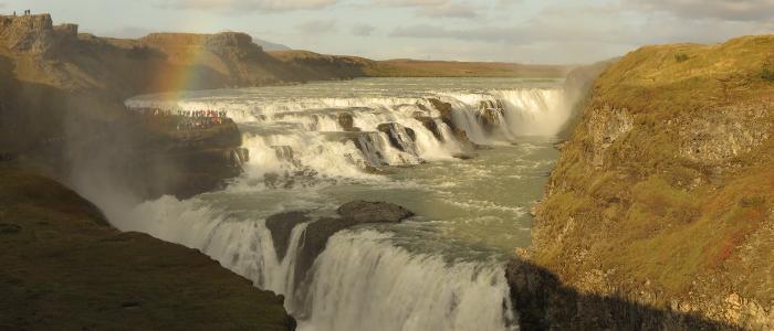 Cascadas Gullfolls Islandia