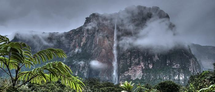 Cataratas Salto del Ángel Venezuela