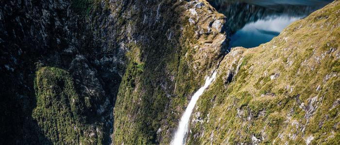 Cataratas Sutherland Nueva Zelanda